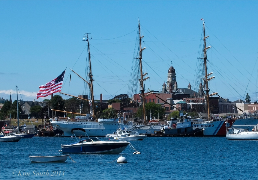 USCG Barque Eagle Gloucester MA ©Kim Smith 2014 -1