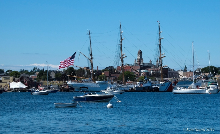 USCG Barque Eagle Gloucester MA ©Kim Smith 2014 -2