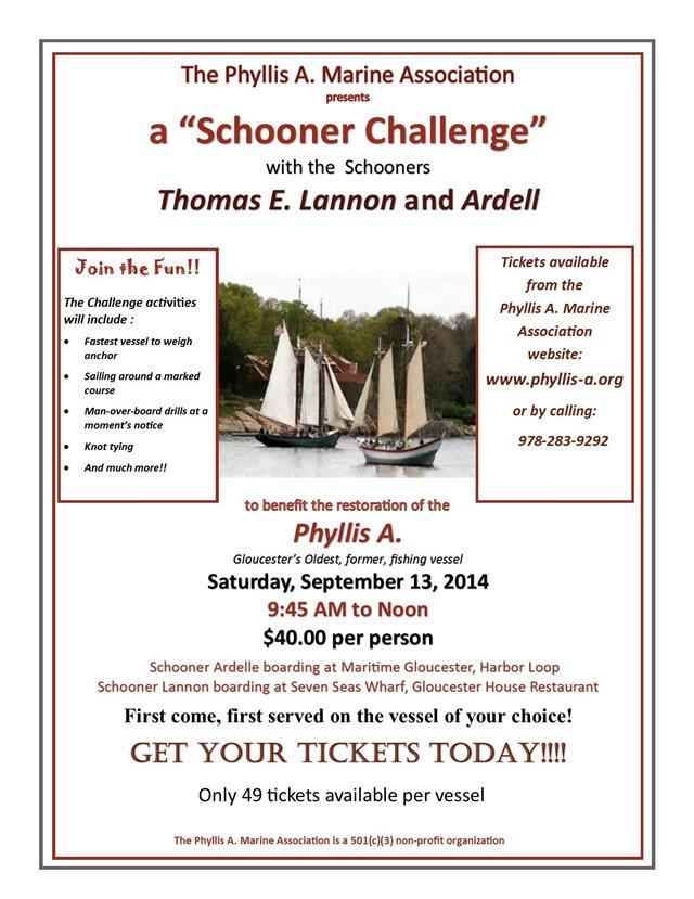 2014 schooner challenge sail