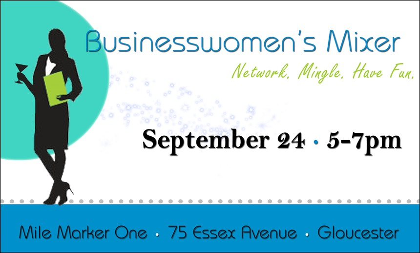 Business Womens Mixer Ad