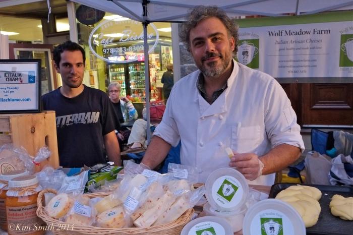 cheese maker Luca Mignogna ©Kim Smith 2014
