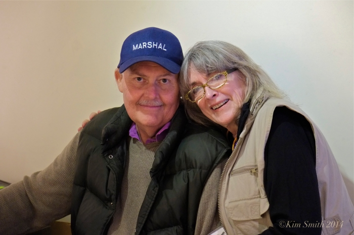Fred and Valerie ©kim Smith 2014