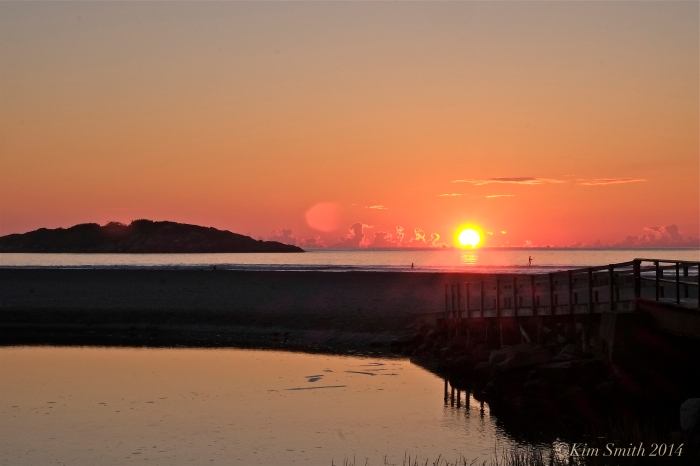 Good Harbor Beach September sunrise ©kim Smith 2014
