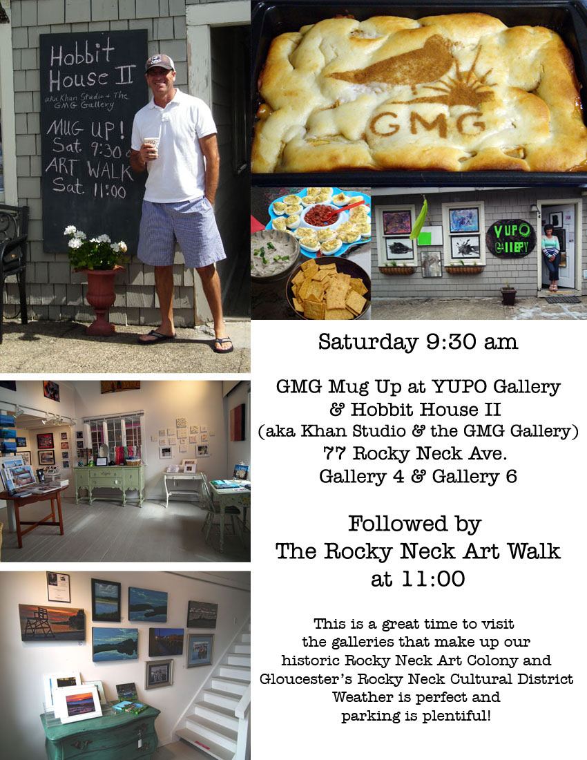 mug up and art walk