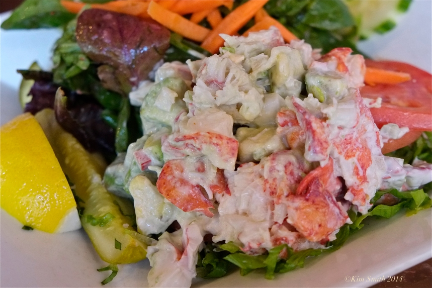Passports Restaurant Lobster Roll Sald ©Kim Smith 2014