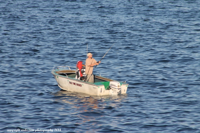 September 15, 2014 The Lone Fishermen