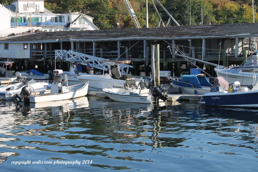 September 28, 2014 Reflecting at Beacon Marine