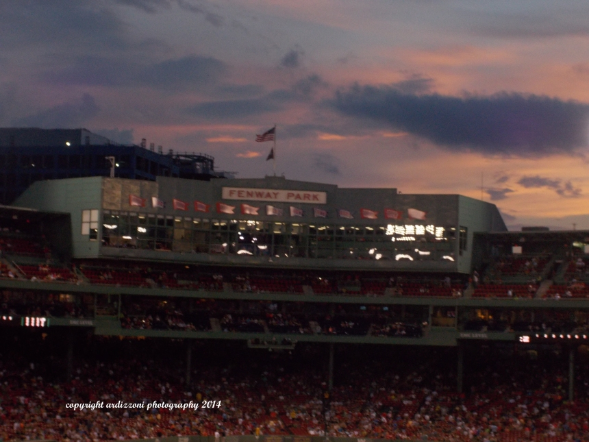 September 6, 2014just love Fenway