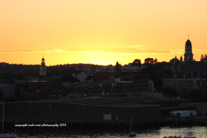 September 7, 2014 sunset after a grat day thanks Bex and Dot