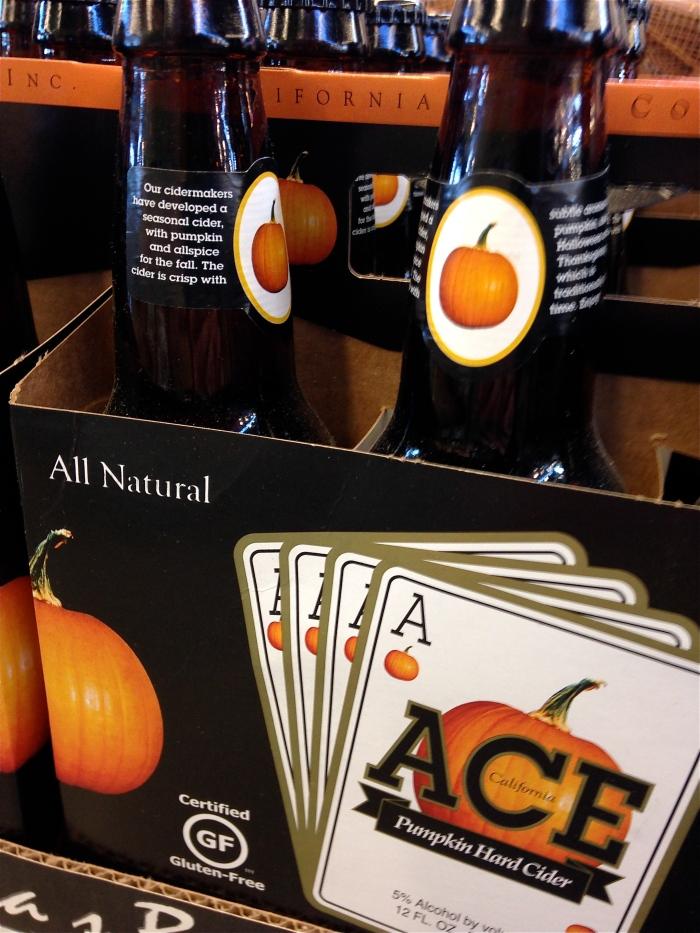 Ace Pumpkin hard cider ©Kim Smith 2014