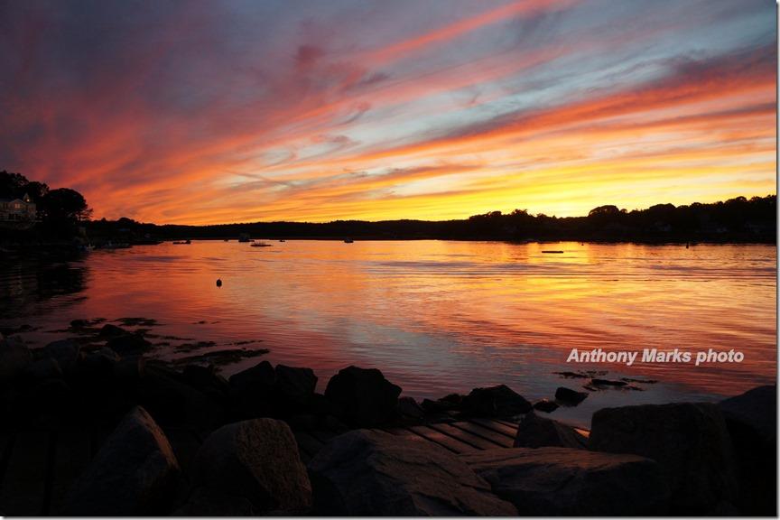 Corliss Landing Sunset