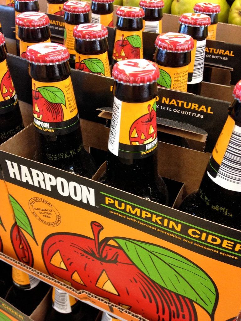 Harpoon Pumpkin pies hard cider ©kim Smith 2014