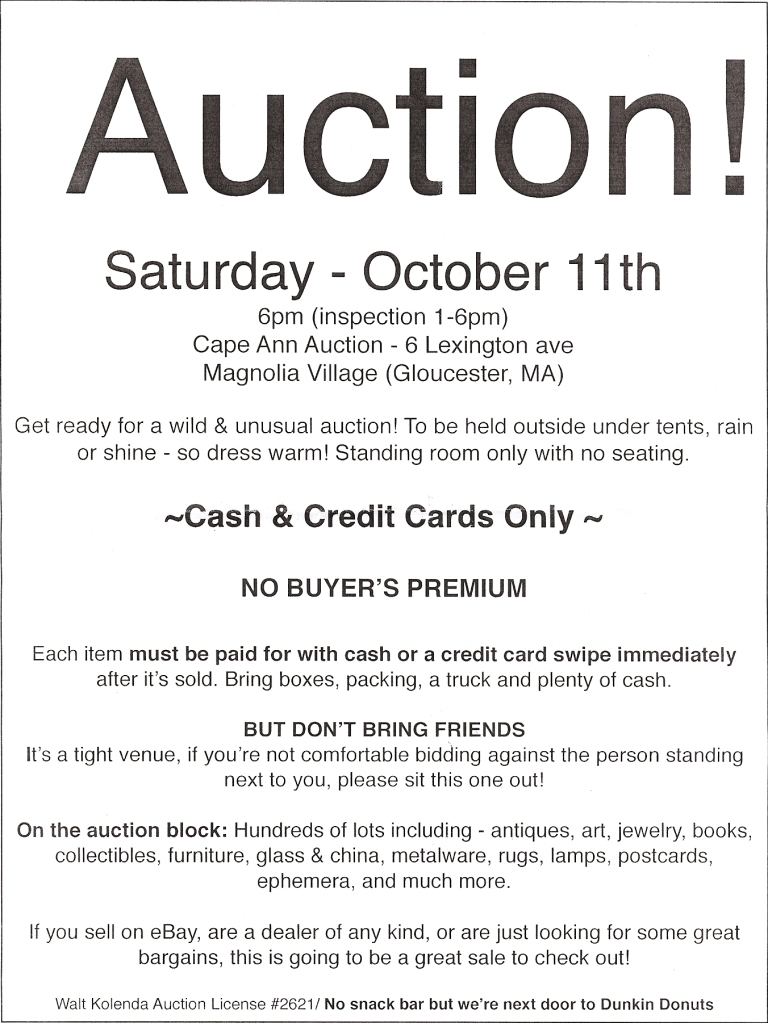Magnolia Auction
