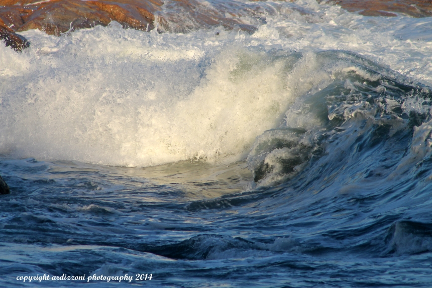 October 2, 2014 surf on shore road