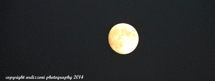 October 6, 2014 beginning of the blood moon