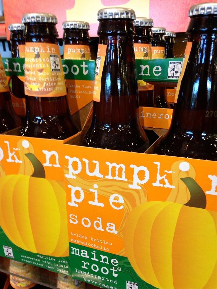 Pumpkin pie soda ©kim Smith 2014