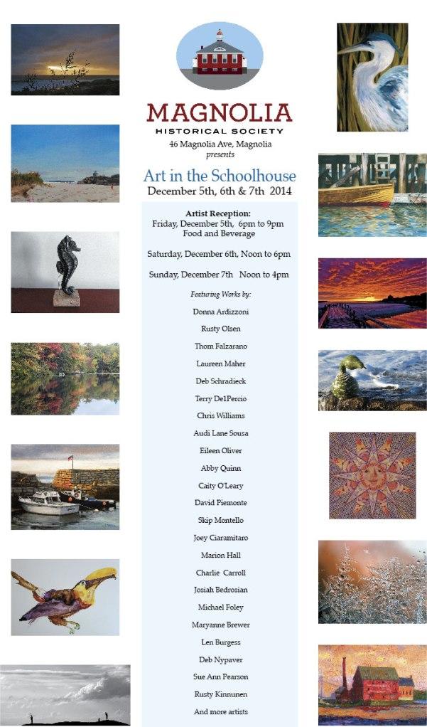 2014 flyer Magnolia Art Show