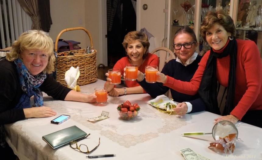 Cathy Gunn, Nina Groppo, Kathy Pratl, Jane Beddus ©Kim Smith 2014