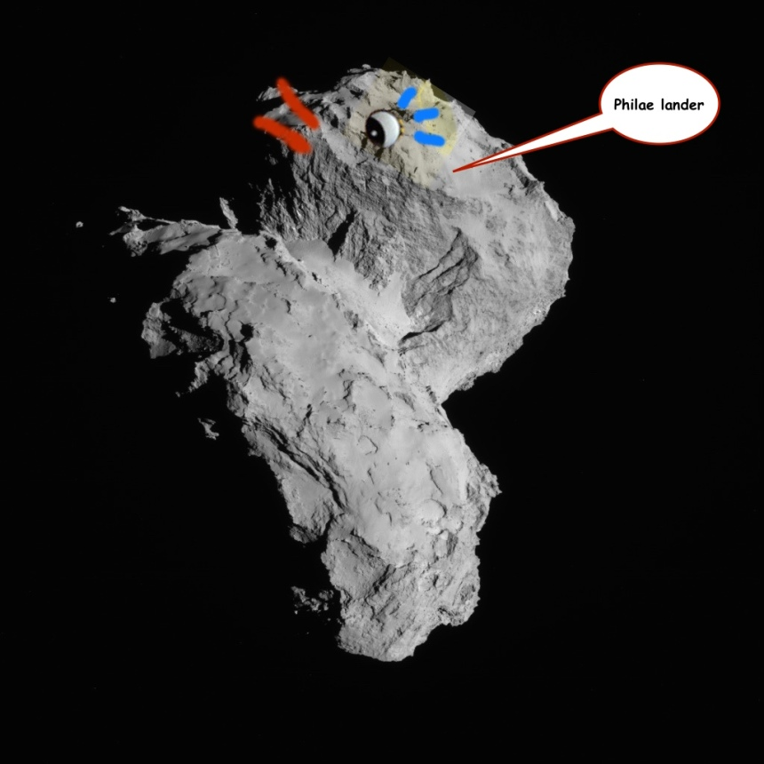 67P Rubber Duck