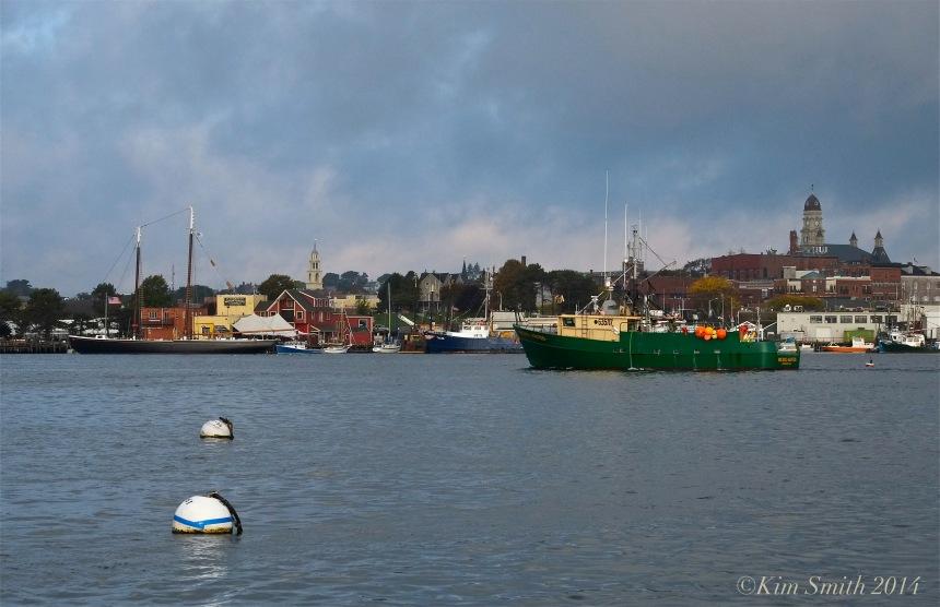 Michael & Kristen Gloucester fishing boat ©Kim Smith 2014