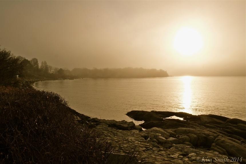 Niles Beach Foggy Afternon ©Kim Smith 2014