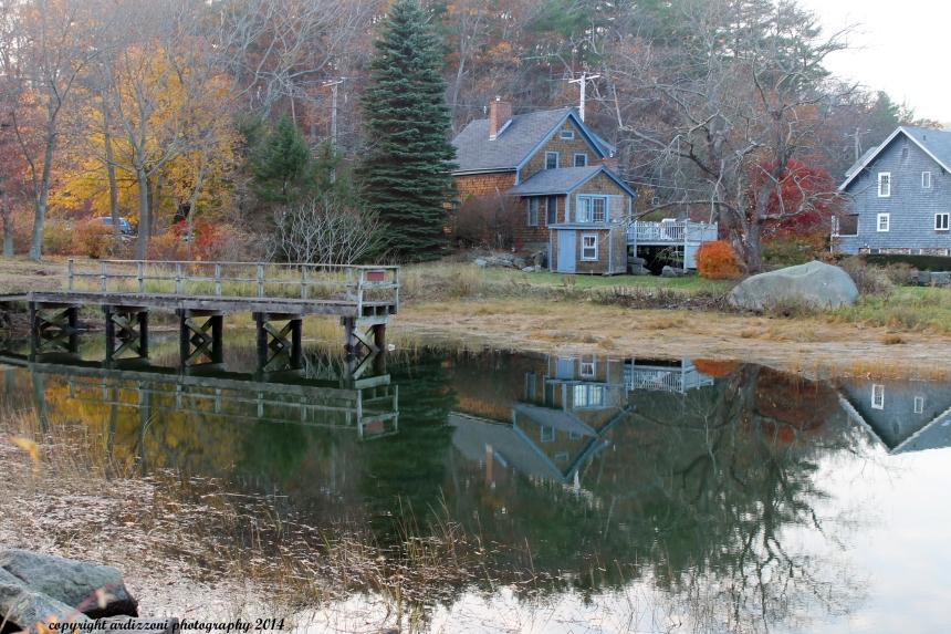 November 12, 2014 reflecting at Little River at high Tide