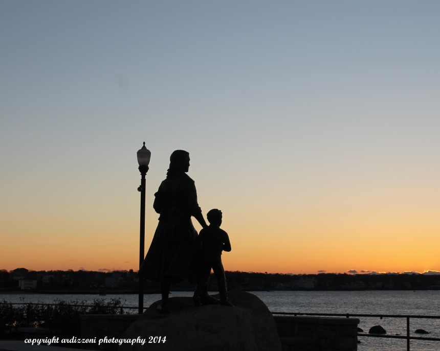 November 22, 2014 Fishermen Wives Memorial at Sunrise