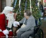 Santa and a resident of Seacoast who is 100