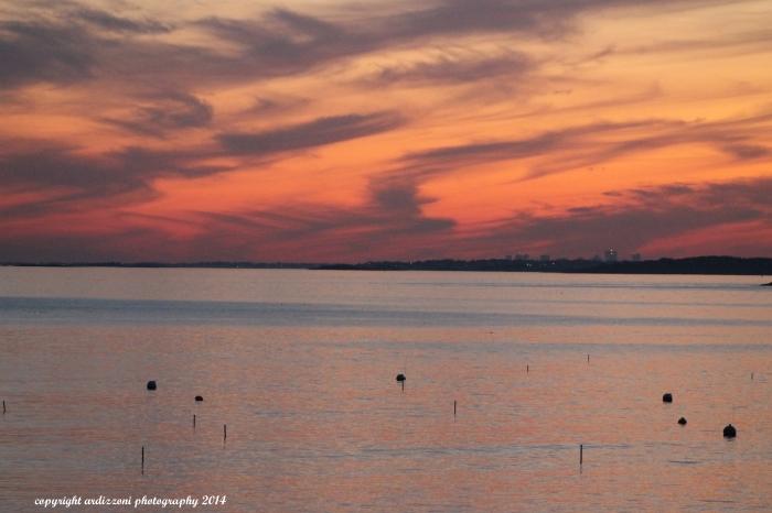 November 9, 2014 sunset on November 9, 2014