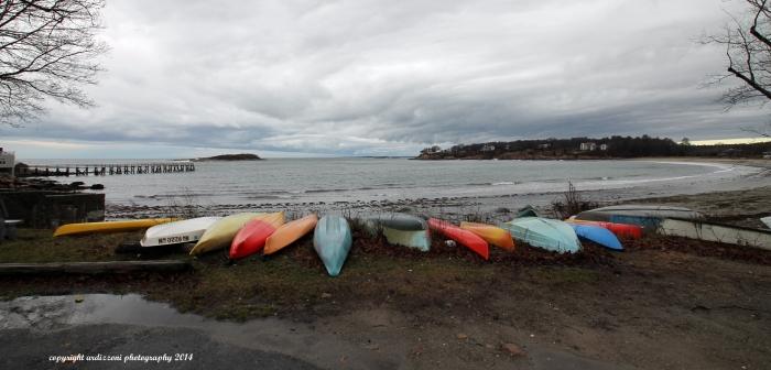 December 25, 2014 Kayaks on Christmas day