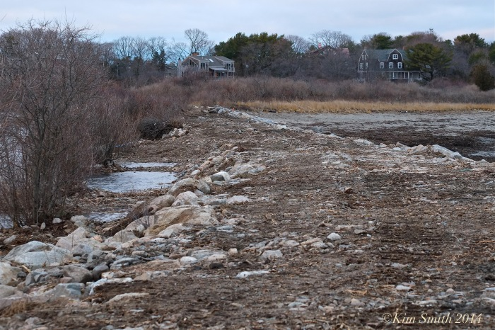 Niles Pond Brace Cove berm causeway restoration -3 ©Kim Smith 2014.JPG