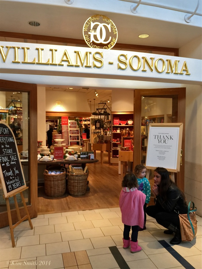 Williams Sonoma closing North Shore mall ©Kim Smith 2014