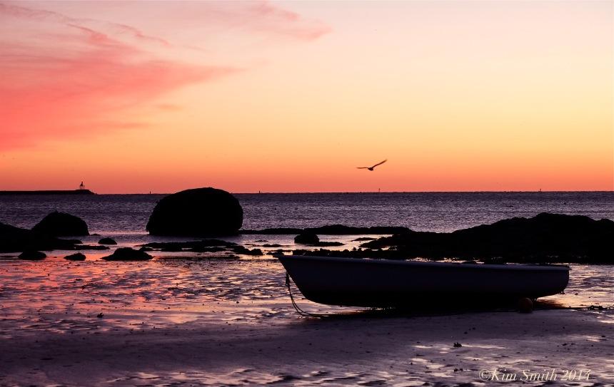 Wonson's Cove Flat Cove Landing Sunset -2