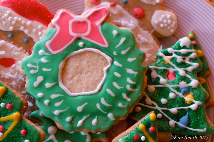 Briar's Christmas Cookiie wreath ©Kim Smith 2015