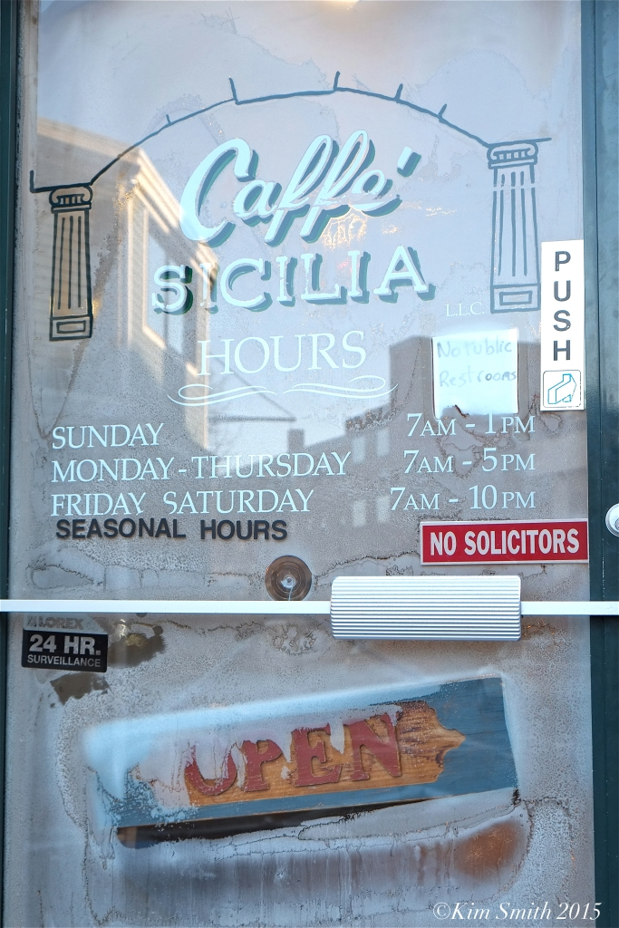 Caffe Sicilia ©Kim Smith 2015