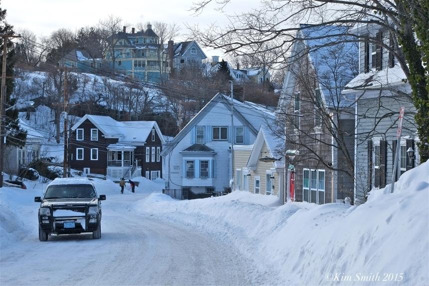 East Maint Street Blizzard 2015 Gloucester ©Kim Smith 2015