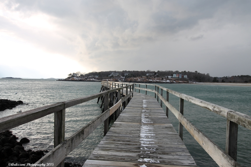 January 16, 2014 Magnolia pier on a cold day