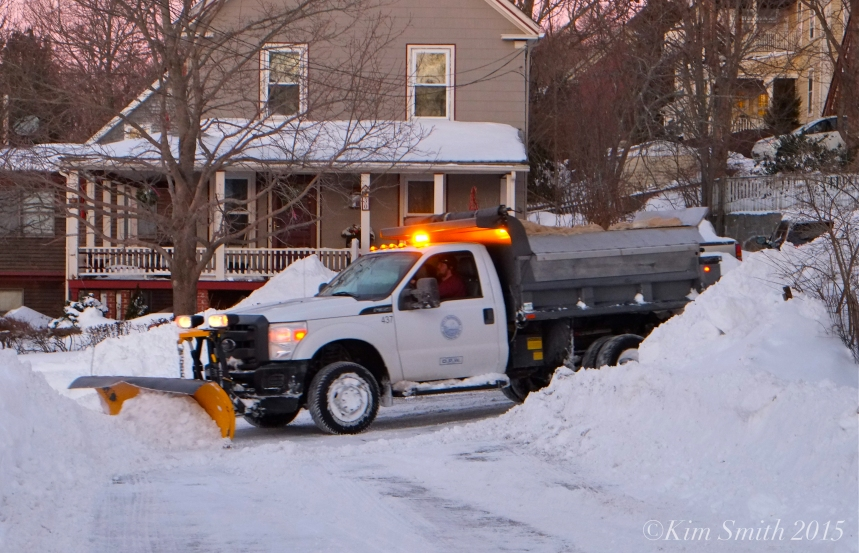 Murray DPW Blizzard 2015 Gloucester ©Kim Dmith 2015