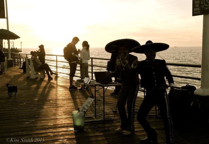Santa Monica Pier ©Kim Smith 2015