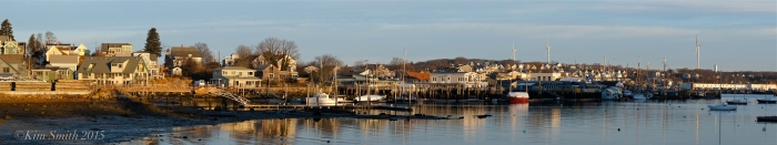 Smiths Cove Rocky Neck Gloucester Panorama ©Kim Smith 2015