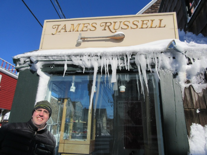 2 jamie russell uncovering his shop