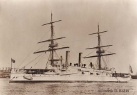 """USS Boston, 1904."""