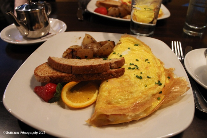 February 22, 2015 yummy at 525 Sunday Brunch