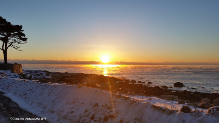 February 6, 2015 another beautiful sunrise in Gloucester MA
