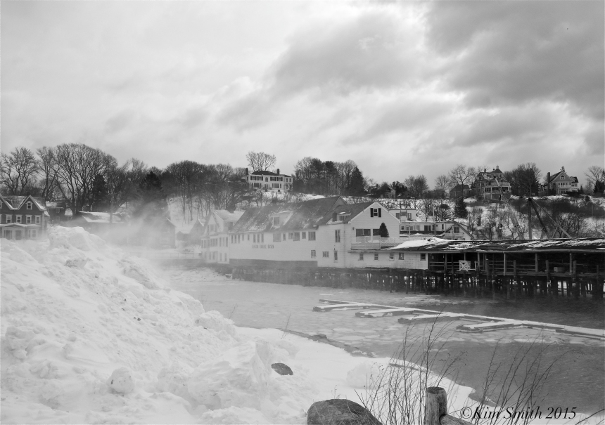 Gloucester MA snow Beacon marine Basin ©Kim Smith 2015