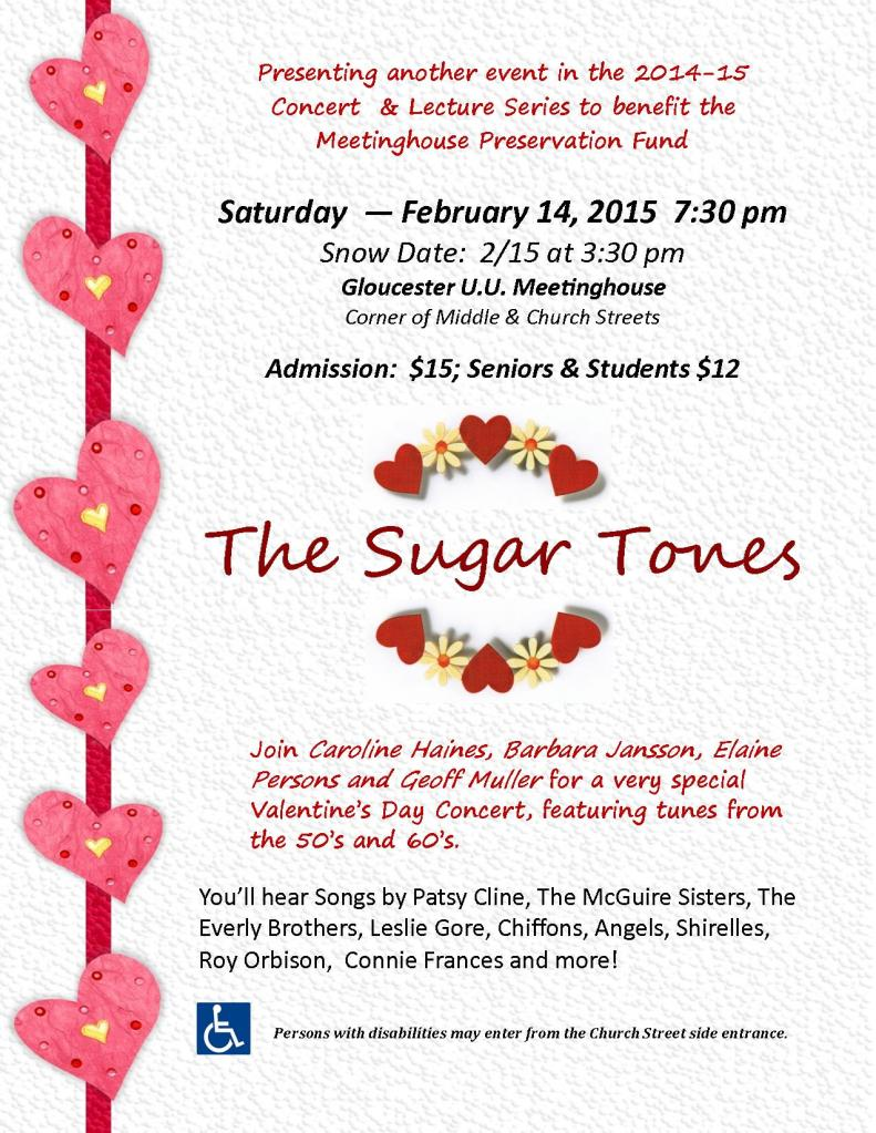 Sugar Tones Flyers