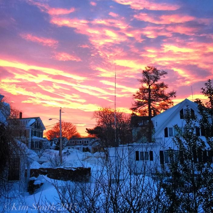 Sunrise Bedroom Window ©Kim Smith 2015