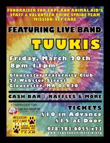 CAA benefit show Tuukis