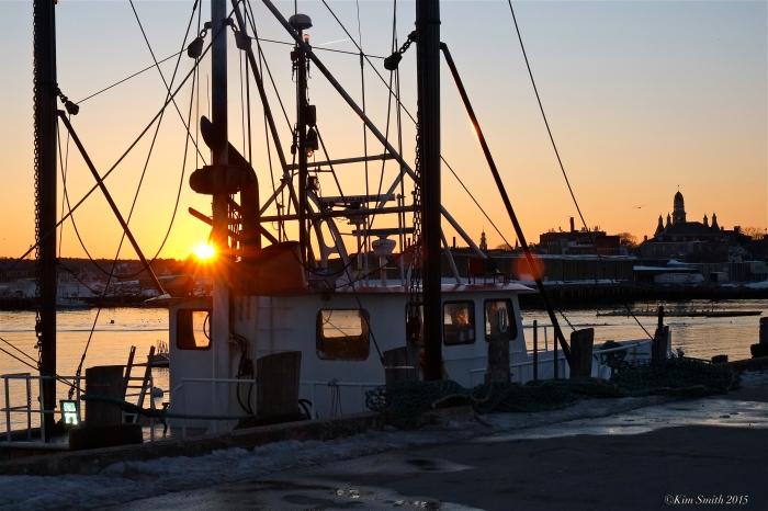 Capt Joe Gloucester fishing boat. ©Kim Smith 2015. -5