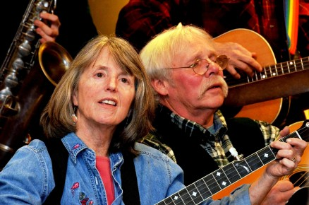 Daisy and Stan at Pete Seeger Sing Out